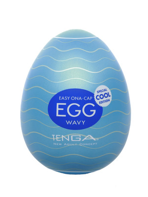 Мастурбатор Tenga Egg Wavy COOL Edition