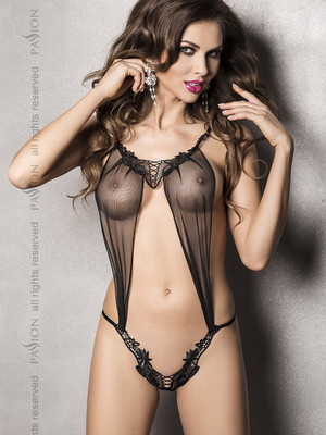ATHENA BODY black - Passion