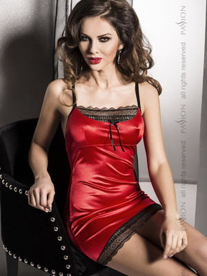 EVANE CHEMISE red - Passion