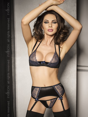 Комплект CHARLOTTE SET black - Passion