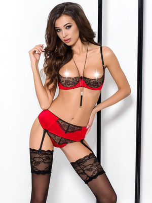 Комплект BRIDA SET red - Passion