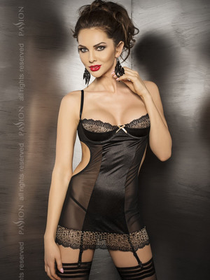 Корсет CERES CORSET black - Passion